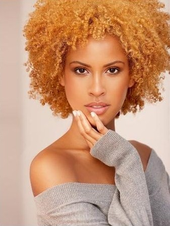 Natural Hair Images http://seriouslynatural.tumblr.com/  honey kissed