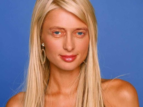 Paris Hilton with Steve Buscemeyes.
