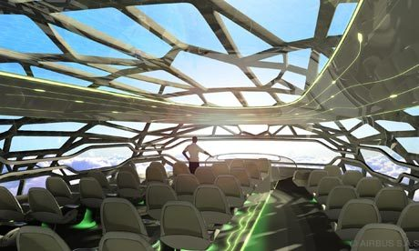 laughingsquid:  Airbus Reveals What Air Travel Will Look Like in 2050; The Cabin Will Offer Panoramic Views