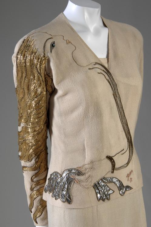 Cocteau Jacket, 1937 by  Elsa Schiaparelli