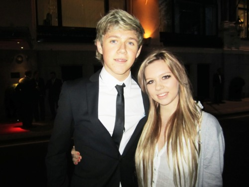 me & niall tonight! such a beauty
