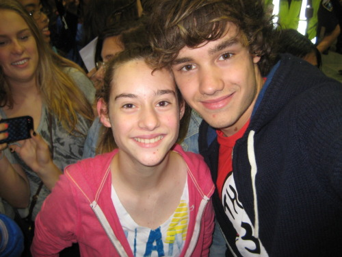 ME AND LIAM (He took the picture!)