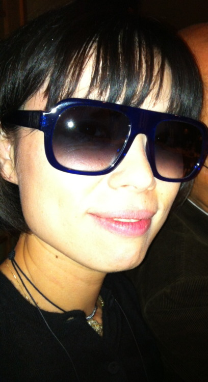 The Fabulous Ms. Uehara wearing Thierry Lasry