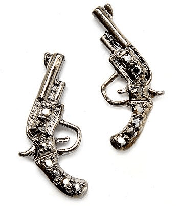 Bang Bang, murder Dem n these HAWT earrings shop@ http://www.urbanclassboutique.com/
