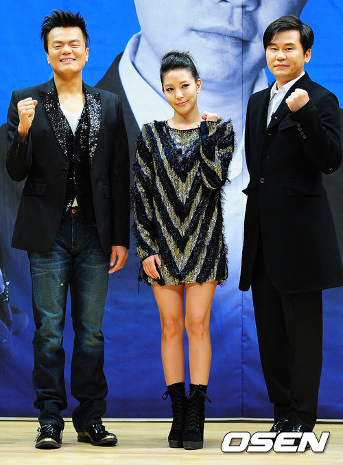"YG, BoA & JYP, All Agreed to be Paid Less than they Should! Yang Hyun Suk, Park Jin Young and BoA showed their love for their  program by agreeing to receive smaller paychecks than they could've  received. The three are currently judges on the SBS survival audition  program K-Pop Star, which aired its first episode on December 4. Because the program had to bring in global star BoA, Yang Hyun Suk  (former Seo Taiji & Boys member and producer of YG artists,  including Big Bang), and Park Jin Young, the mastermind behind Wonder  Girls and 2PM, many expected the trio to be paid handsomely as  A-listers. That top MCs such as Yoo Jae Suk and Kang Ho Dong receive at  least 10 million won per episode for variety shows gave strength to this  speculation. The three judges, however, didn't care much for their  payment contracts, and agreed to receive a fairly modest amount for the  sake of the program. An official said on the issue, ""As the amount producers have to pay  celebrities is climbing every day with the new general service channel  wave, we were thankful that [BoA, Yang Hyun Suk and Park Jin Young]  didn't demand too much in payment. A-class stars are paid an average of  100 million won per drama episode because of the increase in demand  brought on by general service channels, and B-class MCs can also ask for  at least 10 million won, but these three are paid substantially less  than these others. It shows their passion and attachment to the program,  and I hope the [variety] challenge they are to take on touches many  peoples' hearts.""K-Pop Star has 19 more episodes coming up, which will  cover a large-scale project to find a global idol star. The winner will  receive 300 million won in prize money, a car, and the chance to release  a worldwide album. According to AGB Nielsen Media Research, the first  episode on December 4 recorded 10.7% viewership ratings (Capital areas). Source & Translated by: enewsworld"