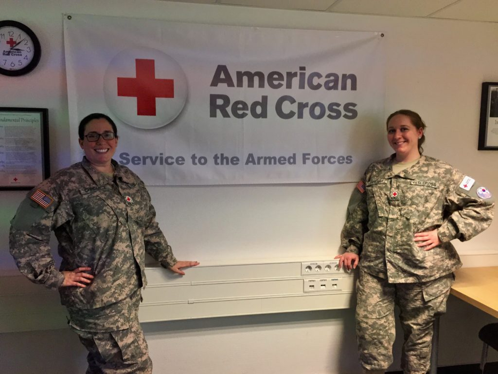 Red Crossers Deploy To The Middle East To Serve
