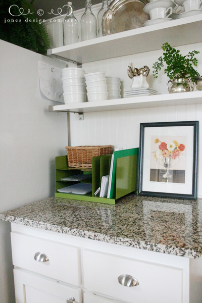 solution to kitchen counter clutter | jones design company