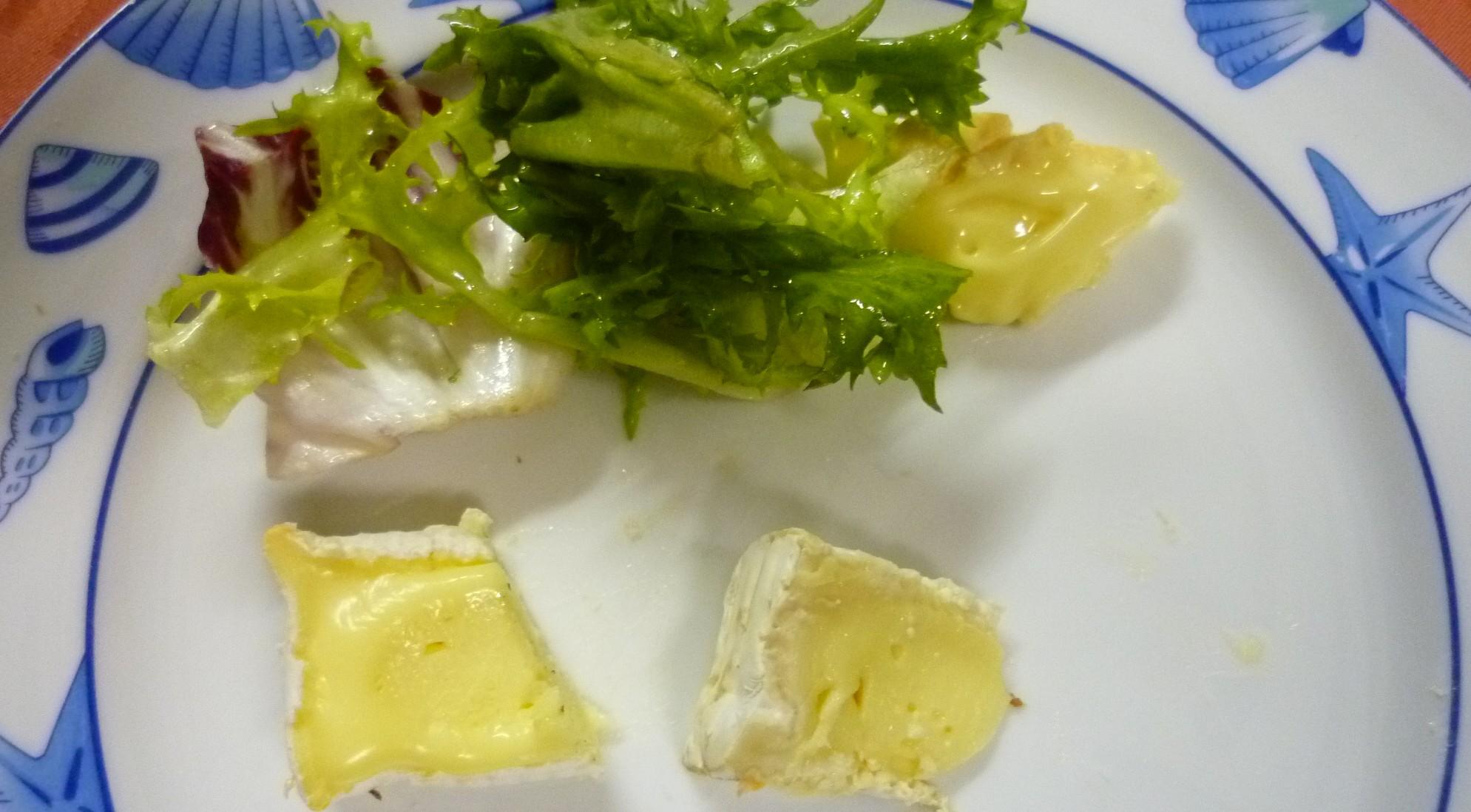 4. Gang Käse aus der Normandie
