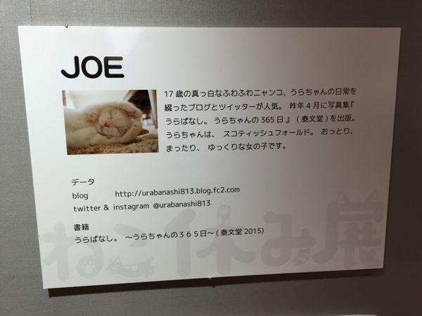 JOEさん
