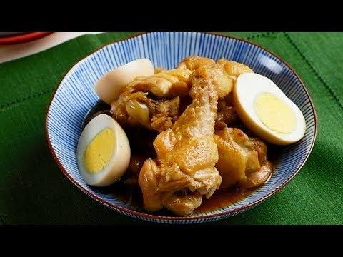 お酢で鶏手羽元さっぱり煮