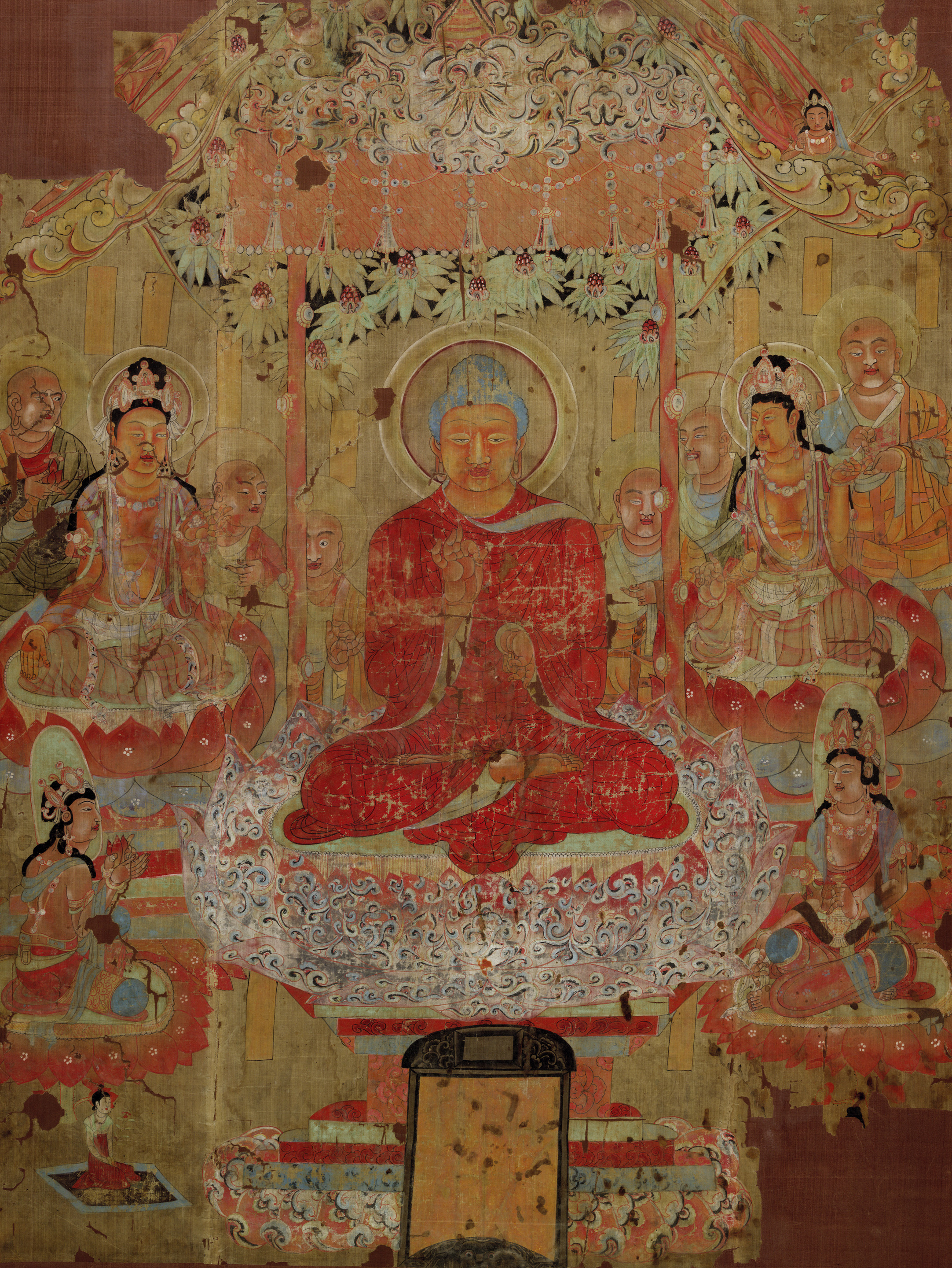 Middle Way Education Object Focus Buddhist Paintings