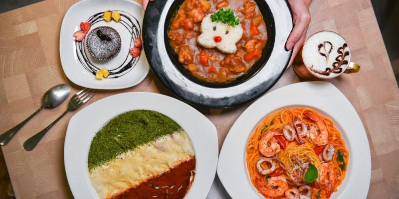 NowPlace現在:台中西屯區美食-隱身在逢甲商圈的義式料理,必點招牌義大利國旗三色麵!
