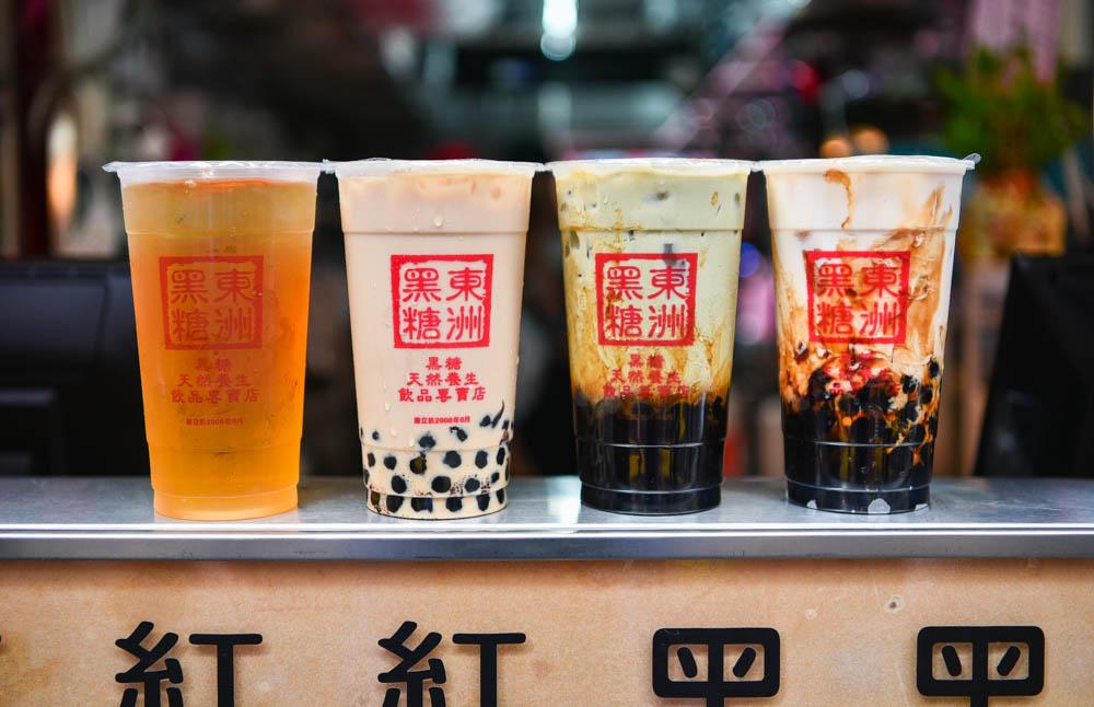 東洲黑糖奶舖一中店:台中北區美食-不用到台南也喝的到東洲黑糖奶舖!濃醇香的黑蛋奶開幕前間買一送一!