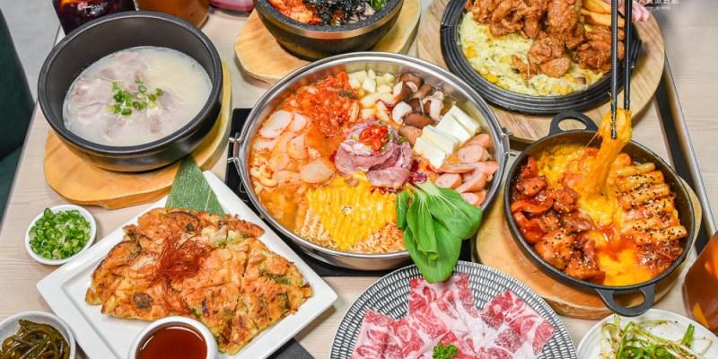 韓虎嘯JMall門市:台中西屯區美食-韓國小菜吃到飽、菜色種類豐富的韓式料理餐廳,另有包廂空間適合團體聚餐!
