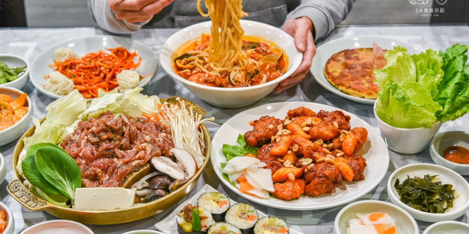 奇化加韓國料理餐廳:台中南屯區美食-選擇多元及小菜、冰淇淋吃到飽的韓式料理店,憑消費點數可到歐巴歐妮一號店換韓國美食!