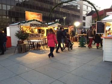 La tartiflette est à l'honneur à Rennes pour le marché de noël
