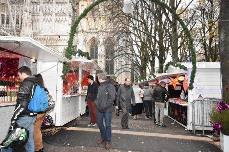 Le marché de Noël de rouen balade