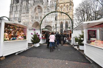 Marché de noël Rouen