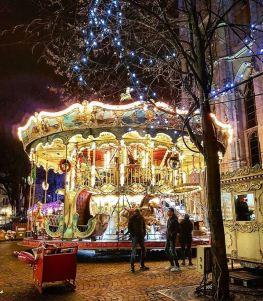 Le carrousel sur le Marché de Noël