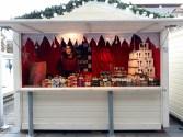 Chalet de chocolats sur le marché de Noël de Rennes
