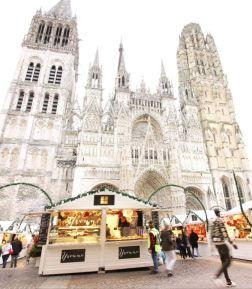 La pâtisserie Yvonne au Marché de Noël de Rouen
