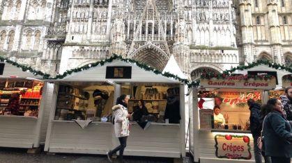 Shopping sur le Marché de Noël