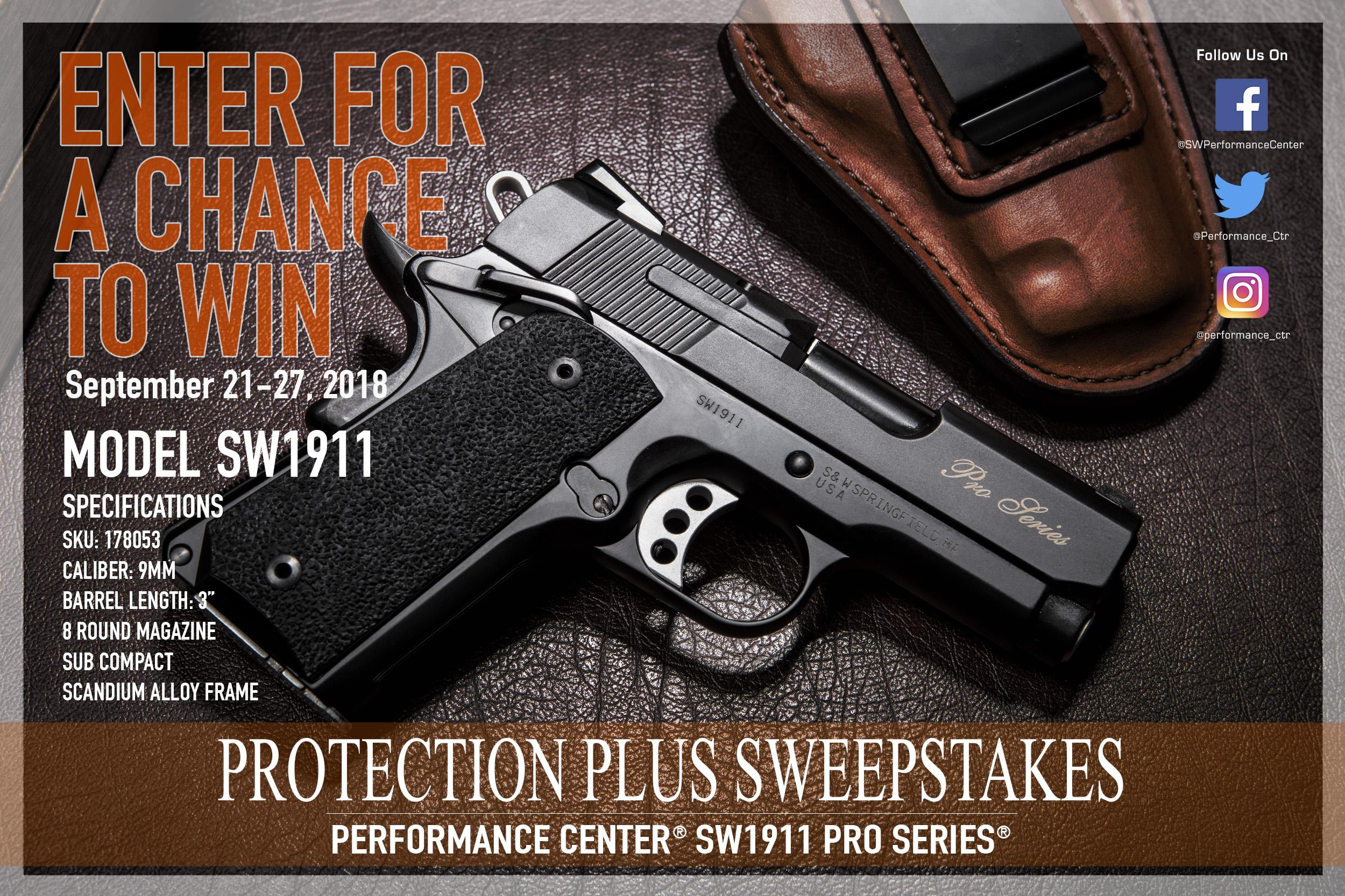 Gun giveaway sweepstakes 2018 august