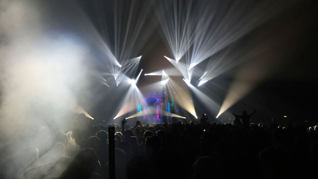 DJ Ben Nicky played the Belfast SSE Arena with K-array Firenze