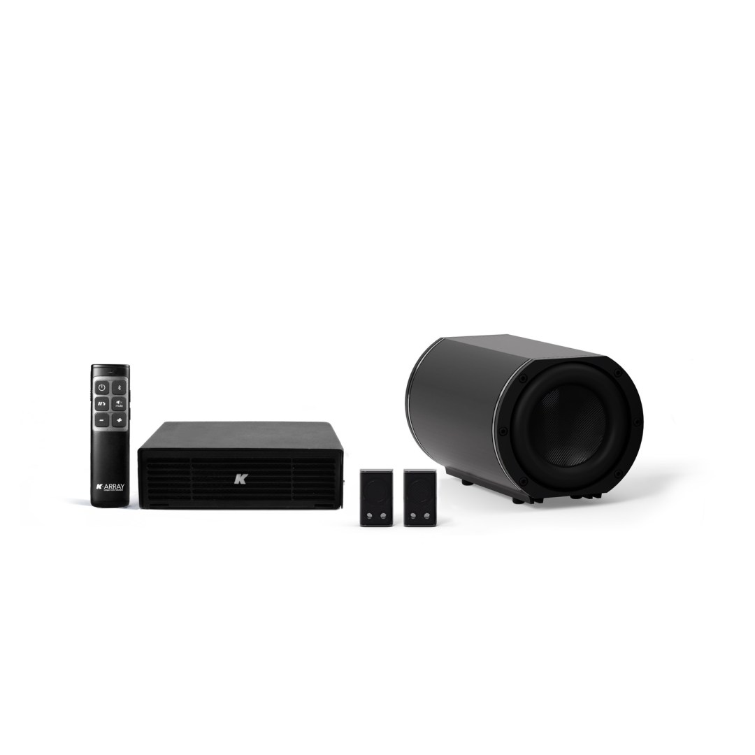 K-ARRAY AZIMUT KAMUT2L1 Discreet audio system black