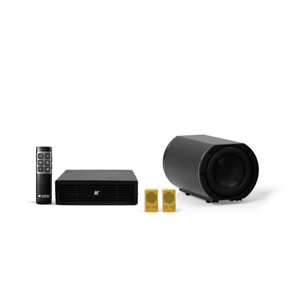 K-ARRAY AZIMUT KAMUT2L1 Discreet audio system gold