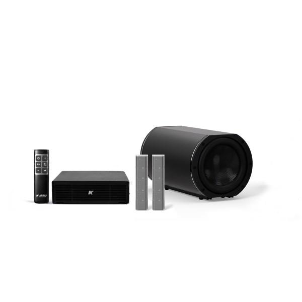 K-ARRAY AZIMUT KAMUT2L14 Discreet audio solution steel