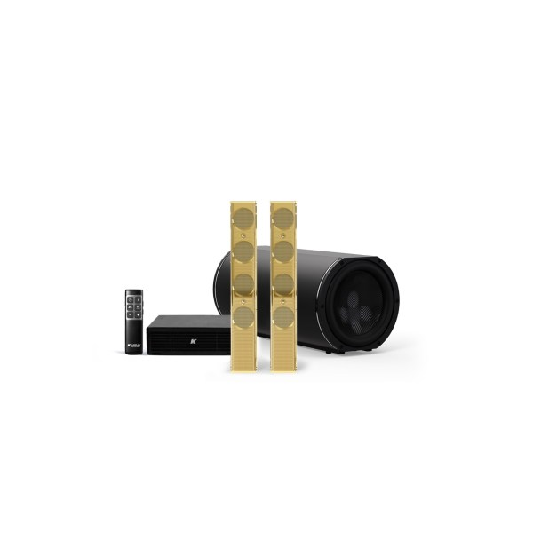 K-ARRAY AZIMUT KAMUT2V25 Discreet Home audio solution gold