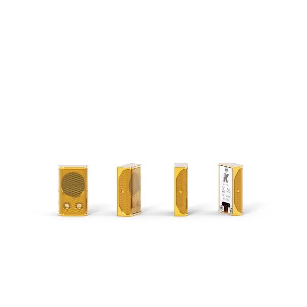K-ARRAY Lyzard KZ1 ultra-miniature aluminum line array element antique gold