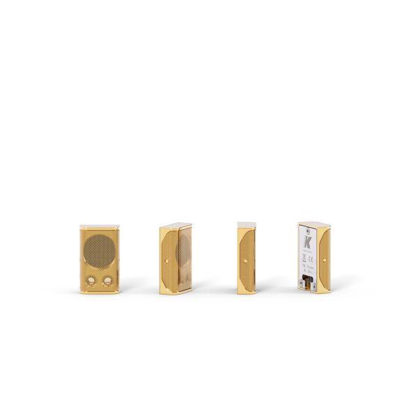 K-ARRAY Lyzard KZ1 ultra-miniature aluminum line array element gold