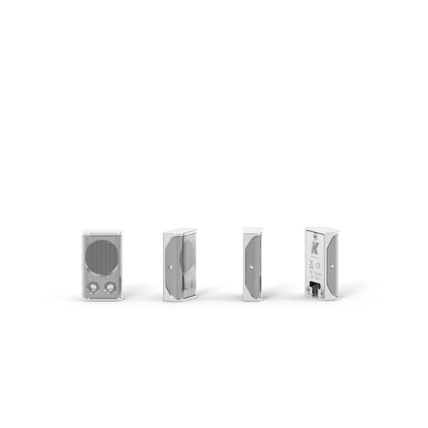 K-ARRAY Lyzard KZ1 ultra-miniature aluminum line array element white silver