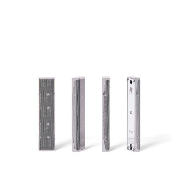 K-ARRAY Lyzard KZ14 miniature slim column loudspeaker silver