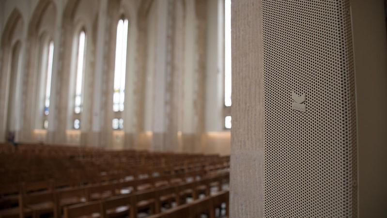 Guildford Cathedral Speaker Installation