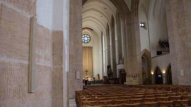 Loudspeaker installation Guildford Cathedral