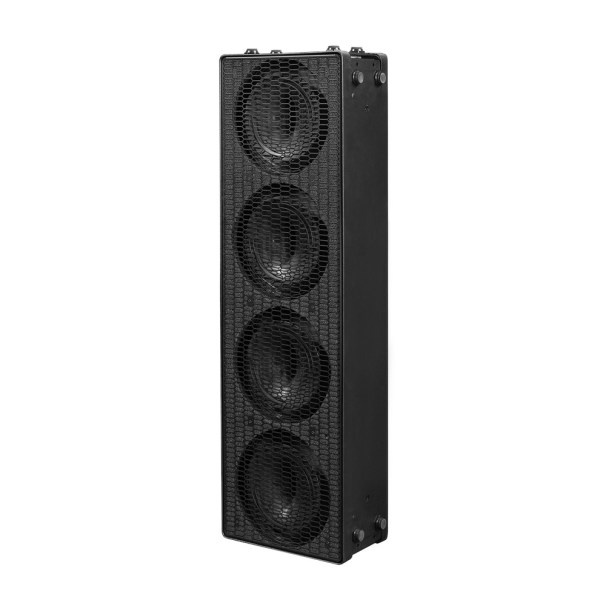 K-ARRAY Firenze KH7 compact loudspeaker front, angled, vertical view