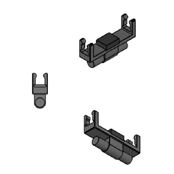K-Array KMC50 microphone brackets all angles