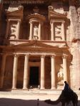 The postcard of Petra