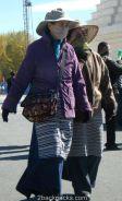 Tibetans at a Lhasa street
