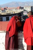 Monks at Jokhang Temple