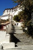 Stairs to the Potala Palace