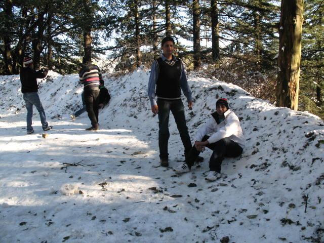 Shimla and kasauli, new year 197