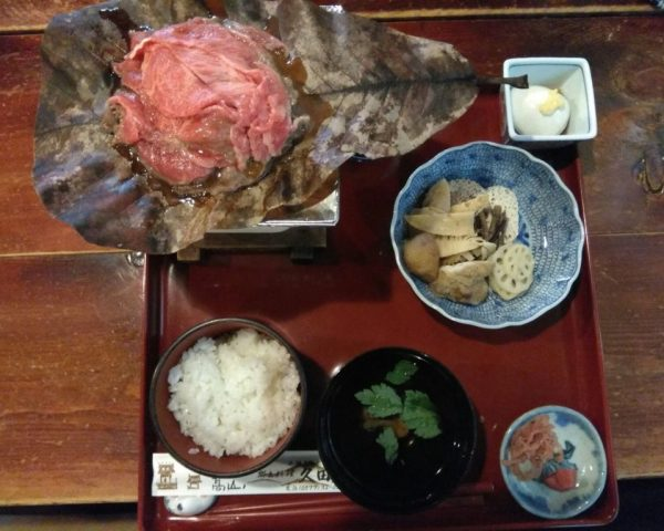 Thanks to Yasufuku, we get to enjoy high quality Takayama Hidagyu Beef today!