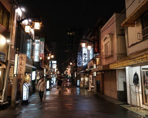 Rainy evening in Asakusa
