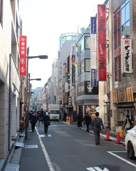 Street around Ueno Touganeya Hotel
