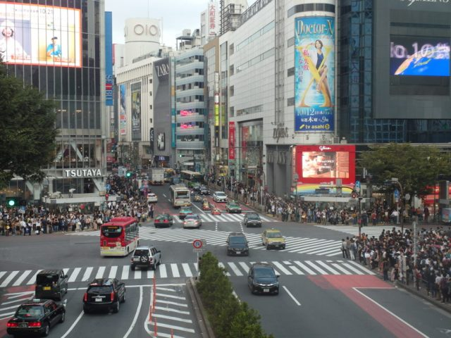 Shibuya Crossing (Before)