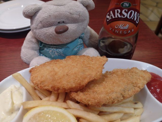 Fish and Chips Ginza Lion (银座) Beer Garden Shibuya Mark City